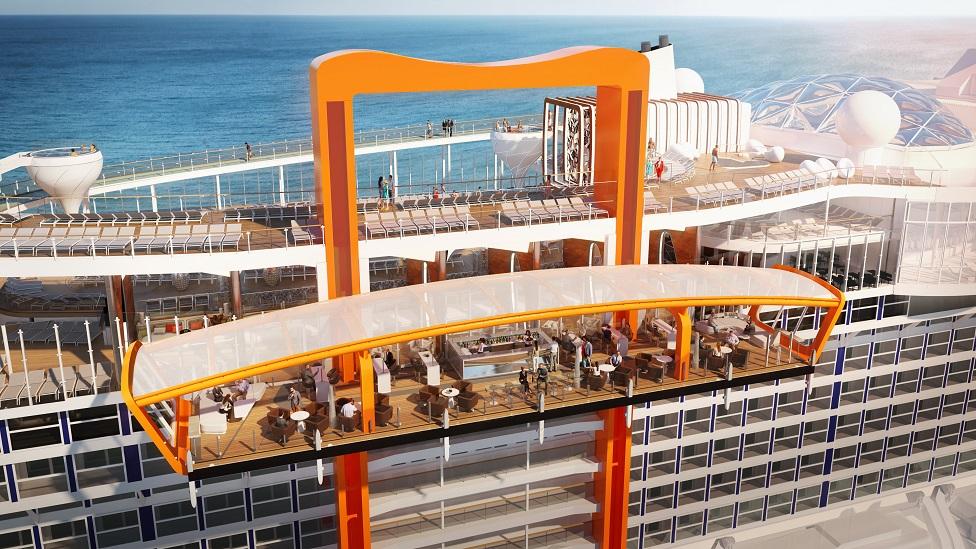 Celebrity Cruises revela Celebrity Edge, una nave diseñada para transformar las expectativas
