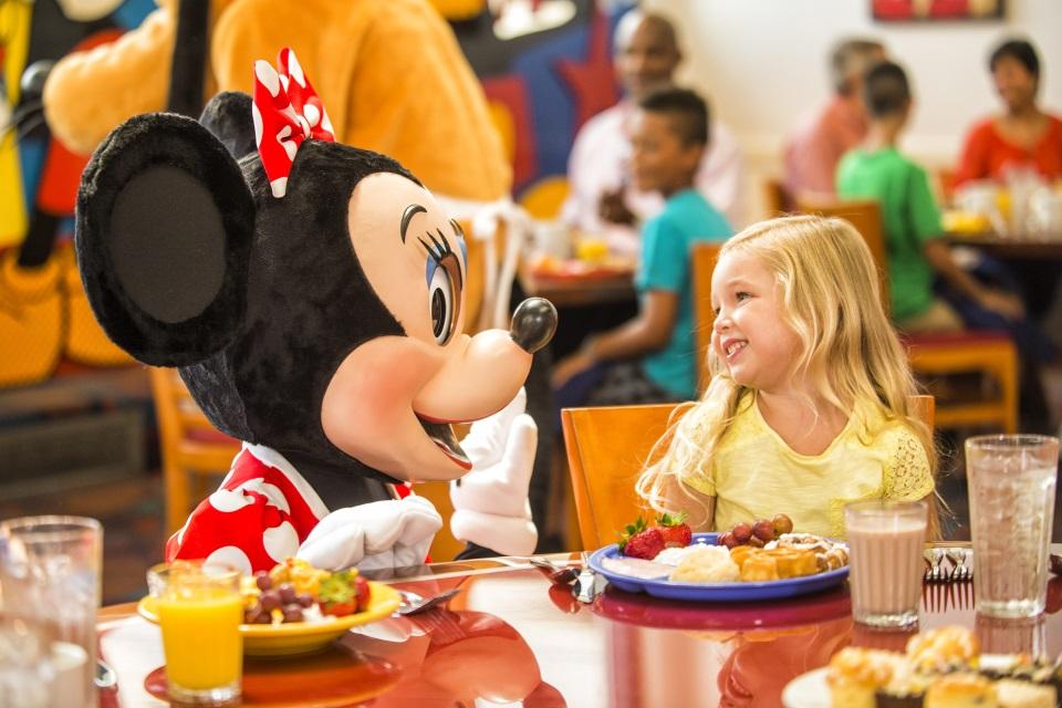 Las mejores comidas con personajes en Disney y cómo funcionan