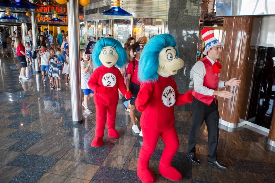Conoce los programas de niños de Carnival Cruise Line