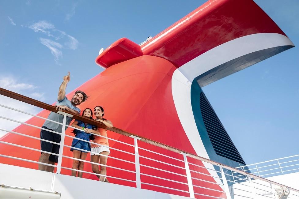 Espacios tranquilos (para estar relax) en barcos de Carnival