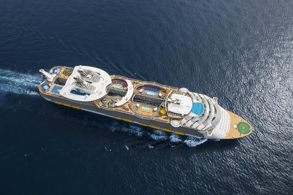 Comida incluida, variada y rica, en el Symphony of the Seas