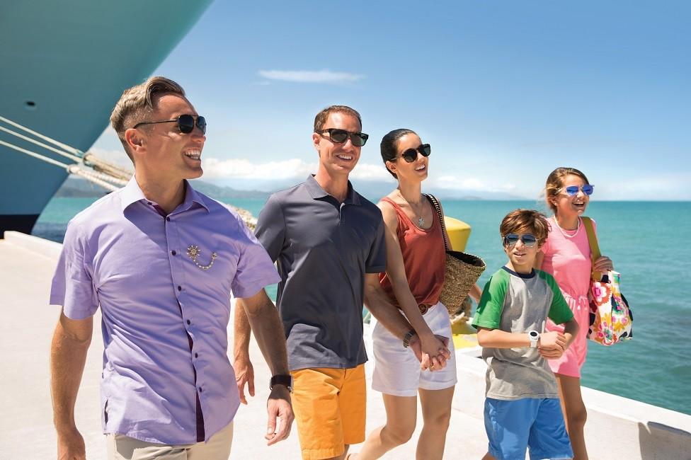 Planificando vacaciones en crucero con grupos grandes de familiares o amistades