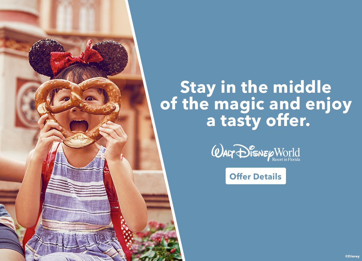 Walt Disney World: Plan de Comida Gratis & Disney Cruise Line: 50% Depósito Reducido
